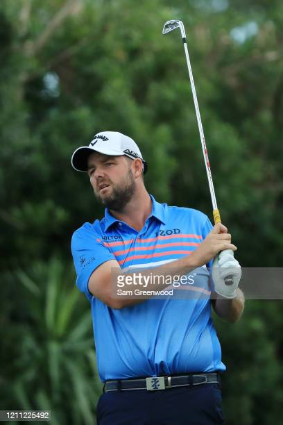 Marc Leishman of Australia plays his shot from the 17th tee during the final round of the Arnold Palmer Invitational Presented by MasterCard at the...