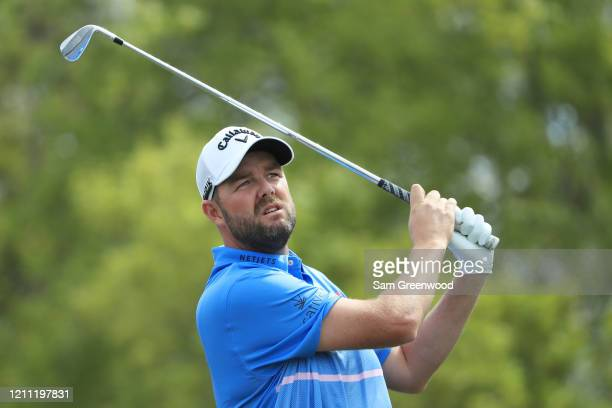 Marc Leishman of Australia plays his shot from the seventh tee during the final round of the Arnold Palmer Invitational Presented by MasterCard at...
