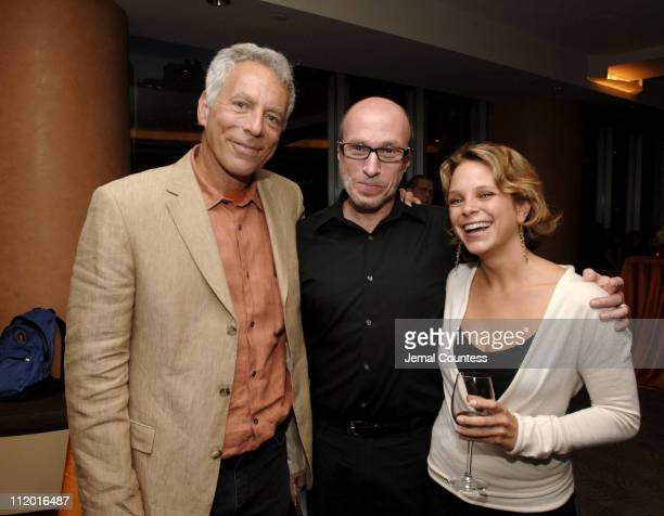 Marc Levin writerdirector of Protocols of Zion Mark Urman of distributor ThinkFilm and Jennifer Tuft coproducer