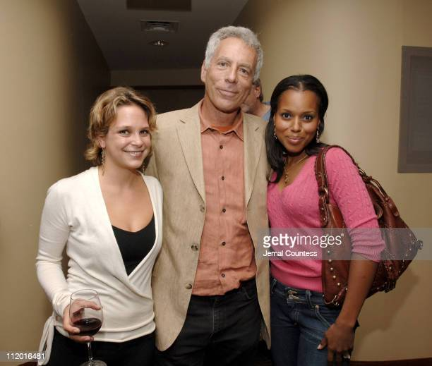 Marc Levin writerdirector of Protocols of Zion with Jennifer Tuft coproducer and Kerry Washington