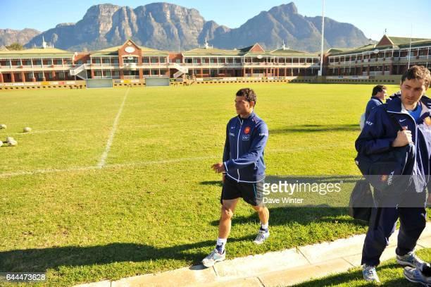 Marc LIEVREMONT Entrainement equipe de France au Villagers Rugby Club Le Cap Afrique de Sud Photo Dave Winter / Icon Sport