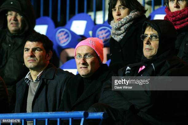 Marc LIEVREMONT/ Bernard LAPORTE / Max GUAZZINI Stade Francais / Bristol Heineken Cup Paris Photo Dave Winter / Icon Sport