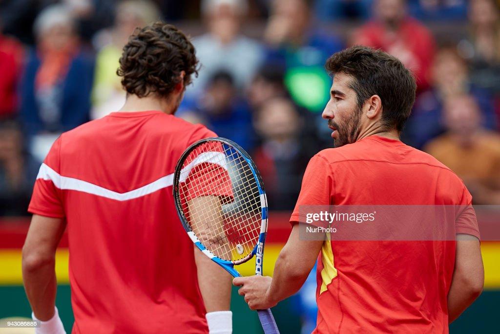 Spain v Germany - Davis Cup by BNP Paribas World Group Quarter Final