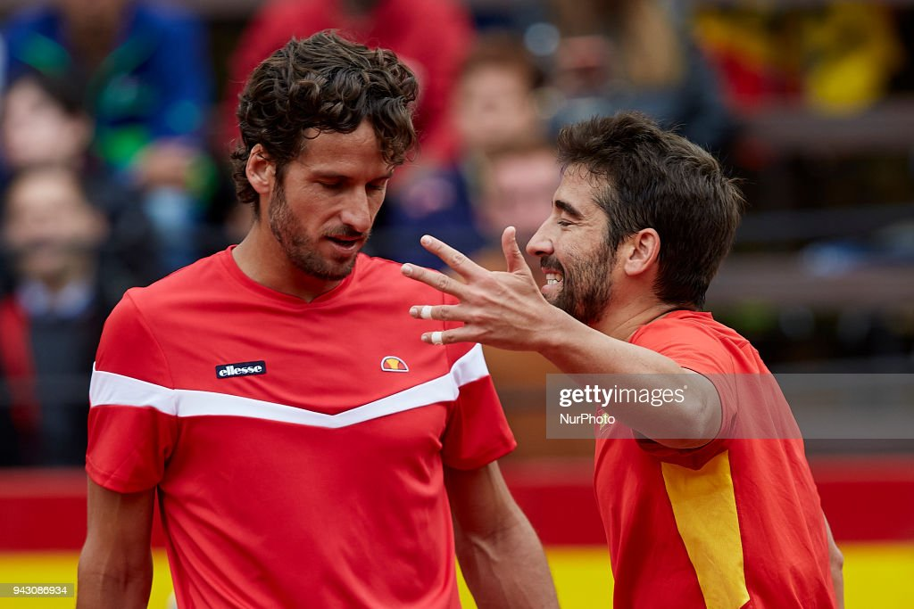 Spain v Germany - Davis Cup by BNP Paribas World Group Quarter Final