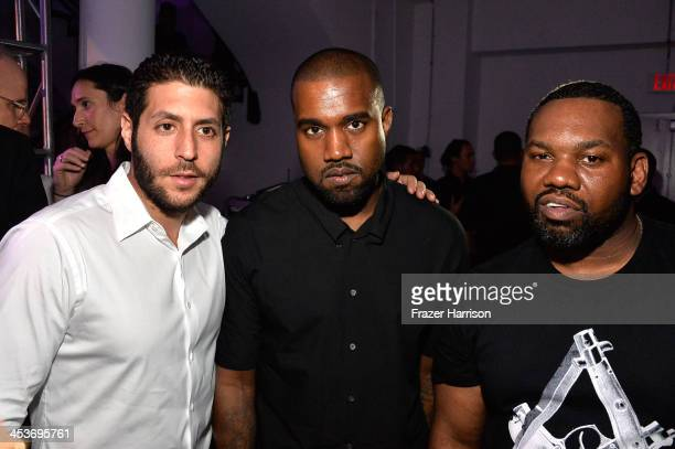 Marc Lotenberg Kanye West and Raekwon attend Surface Magazine's DesignDialogues No 6 With Hans Ulrich Obrist Kanye West And Jacques Herzog at Moore...