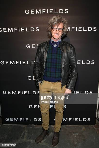 Marc Malkin attends Gemfields celebration of Ruth Negga and Karla Welch at Chateau Marmont on February 24 2017 in Los Angeles California