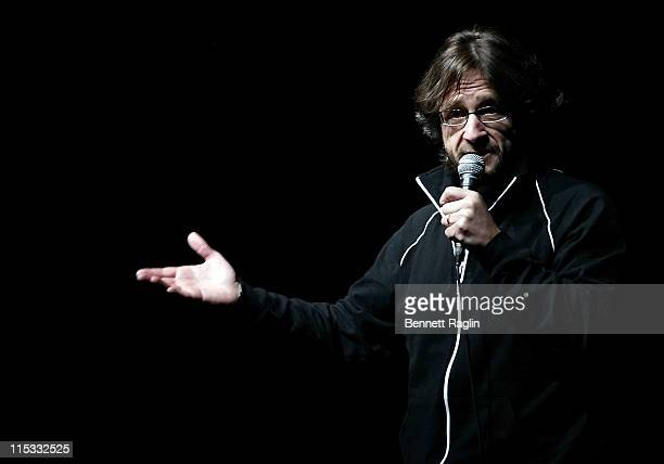 Marc Maron during 'It's Not a Play and There's No Music' Featuring Janeane Garofalo Henry Rollins and Marc Maron at Gramercy Theatre in New York City...