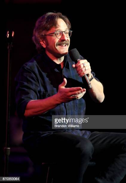 Marc Maron performs on stage at the International Myeloma Foundation 11th Annual Comedy Celebration at The Wilshire Ebell Theatre on November 4 2017...