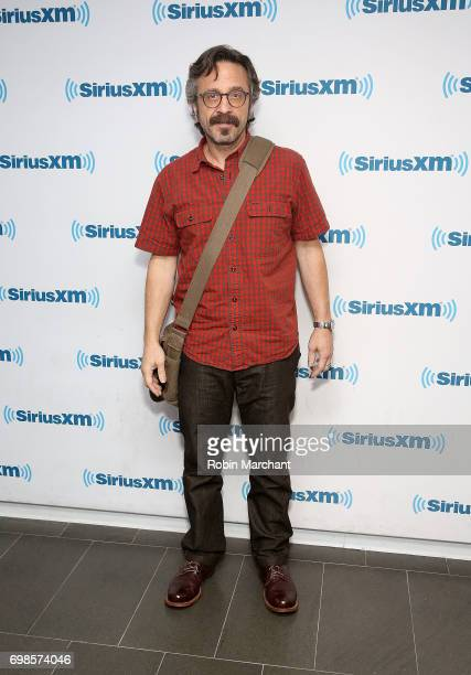 Marc Maron visits at SiriusXM Studios on June 20 2017 in New York City