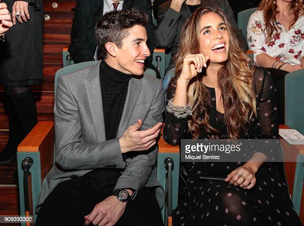 Marc Marquez and Ona Carbonell attend the Catalan Sport Awards 2018 Festa de L'Esport Catala 2018 at Caixa Forum on January 23 2018 in Barcelona Spain