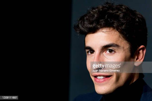 Marc Marquez attends 'DAZN' photocall at cines Callao on February 27, 2020 in Madrid, Spain.