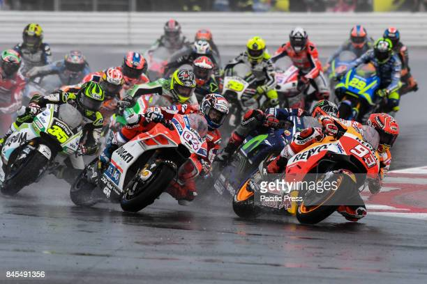 Marc Marquez during race day at Misano world circuit for San Marino GP