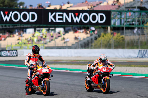 ESP: MotoGp of Catalunya - Qualifying
