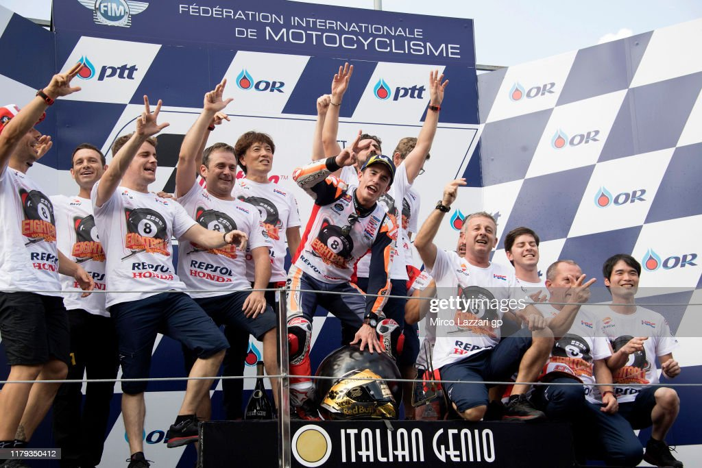 MotoGP of Thailand - Race : News Photo