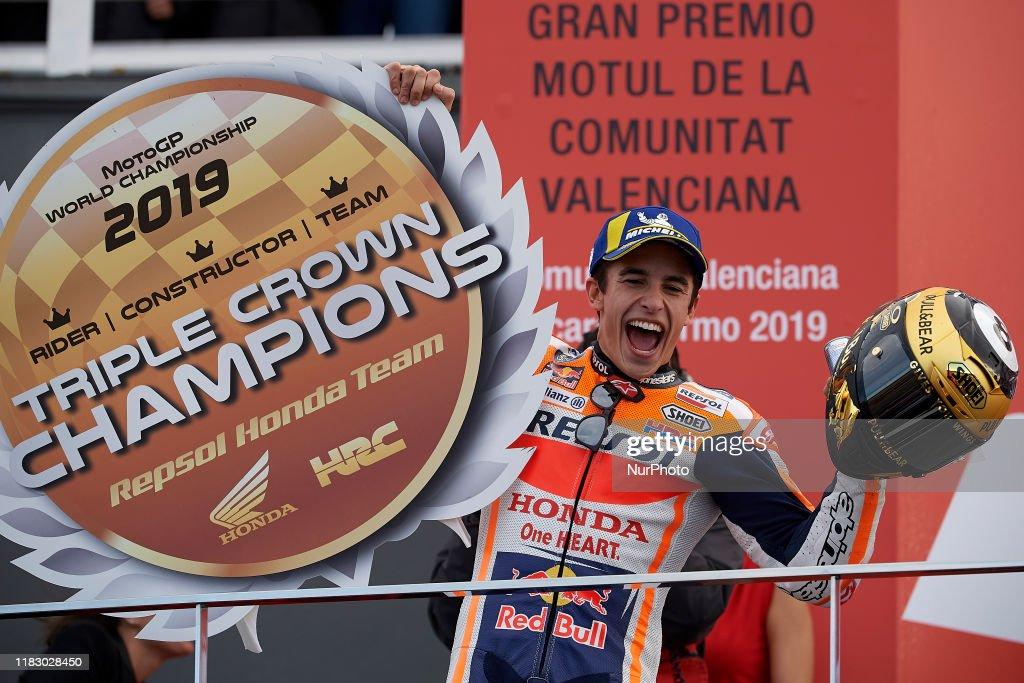 MotoGP Of Valencia - Race : News Photo