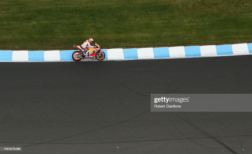 MotoGP of Australia - Qualifying : ニュース写真
