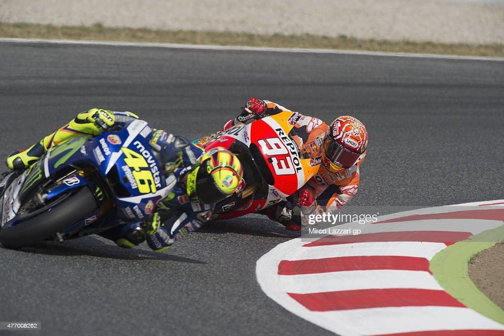 MotoGp of Catalunya - Qualifying : News Photo