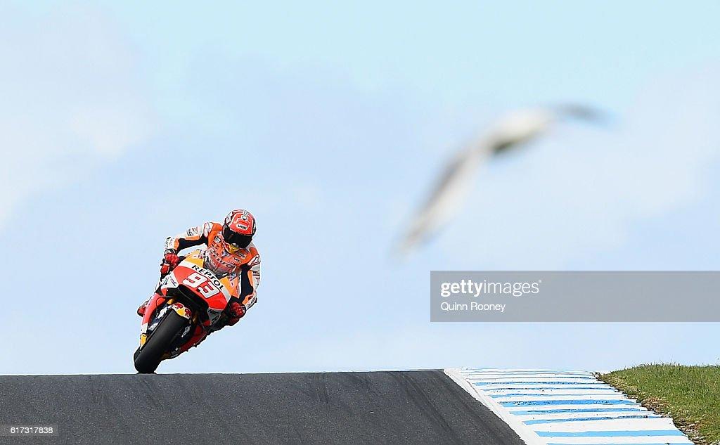 MotoGP of Australia - Race : News Photo