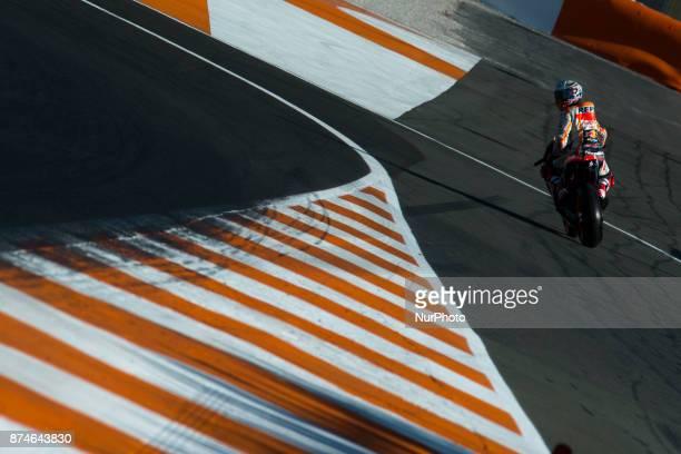 Marc Marquez Repsol Honda Team during the tests of the new season MotoGP 2018 Circuit of Ricardo TormoValencia Spain Wednesday 15th of november 2017