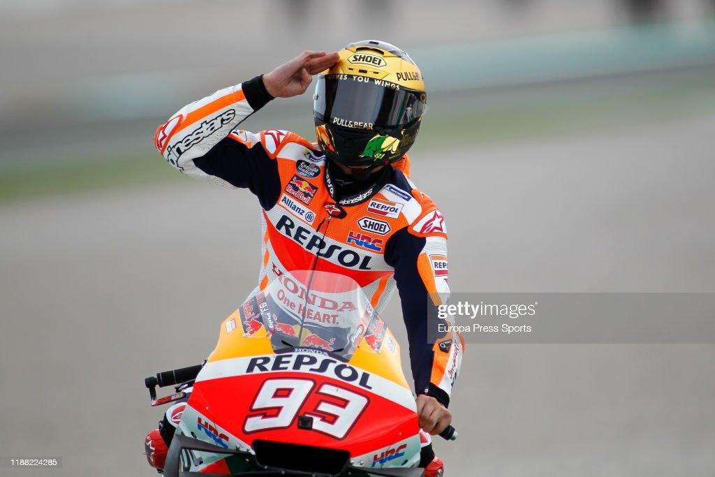2019 Valencia MotoGP Grand Prix : News Photo