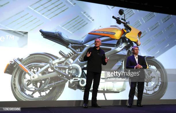Marc McCallister VP Consumer Portfolio Management with Harley Davidson talks about the the new Harley Davidson LiveWire electric motorcycle with...