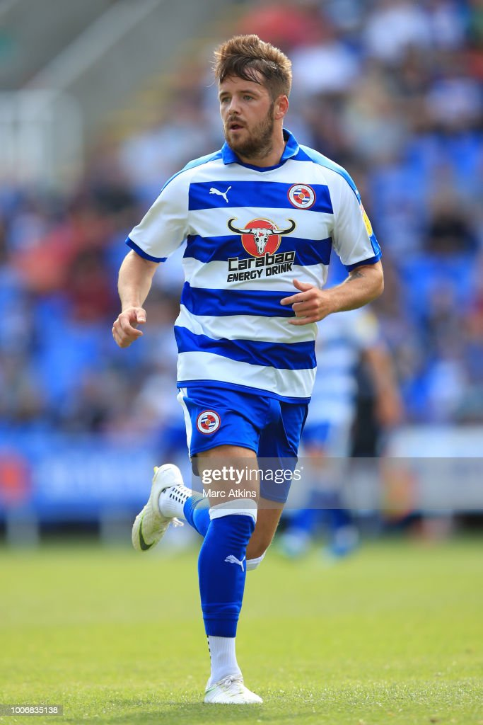 Marc McNulty of Reading during the Pre-Season Friendly between Reading and Crystal Palace at Madejski Stadium on July 28, 2018 in Reading, England.
