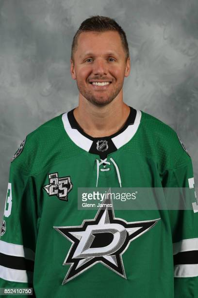 Marc Methot of the Dallas Stars poses for his official headshot for the 20172018 season on September 14 2017 at the Dr Pepper Star Center in Frisco...
