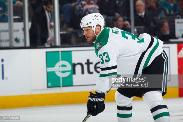 Marc Methot of the Dallas Stars skates against the San Jose Sharks at SAP Center on February 18 2018 in San Jose California