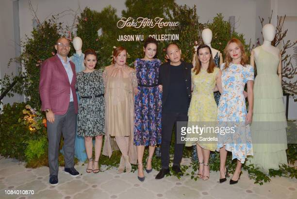 Marc Metrick Alyssa Milano Mary Martin Camilla Belle Jason Wu Linda Cardellini and Kate Bosworth attend a luncheon hosted by Marc Metrick President...
