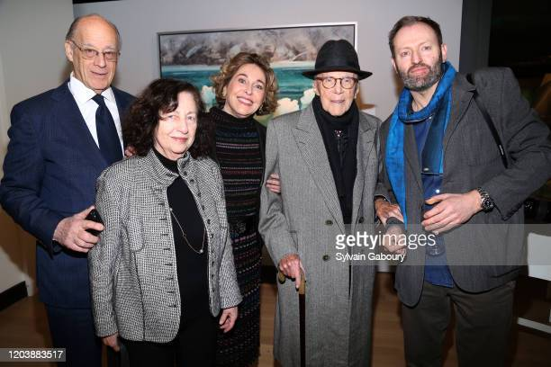 Marc Miller, Shelah Miller, Barbara Hines, Gerald Hines and Alexander McQueen Duncan attend Iceland From The Outside on February 03, 2020 in New York...