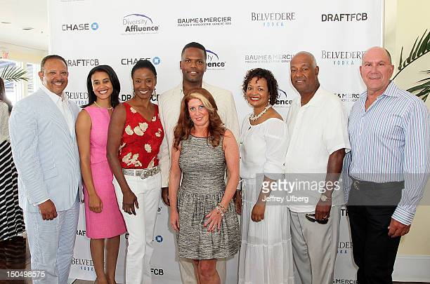 Marc Morial Donna Byrd Barbara Smith AJ Calloway Andrea Hoffman Keisha Vaughn Noel Hinton and Laurence Boschetto attend the 3rd Annual Diversity...