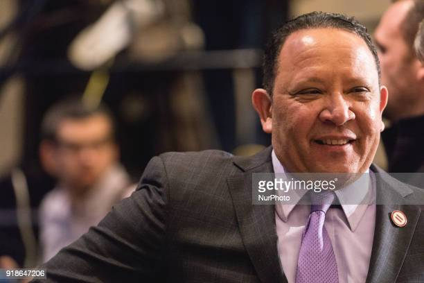 Marc Morial President of the National Urban League was in attendance at the Commemoration of the Bicentennial of the Birth of Frederick Douglass in...