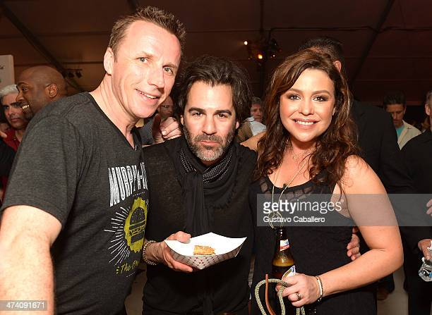 Marc Murphy John M Cusimano and Rachael Ray attend Amstel Light Burger Bash presented by Pat LaFrieda Meats hosted by Rachael Ray during the Food...