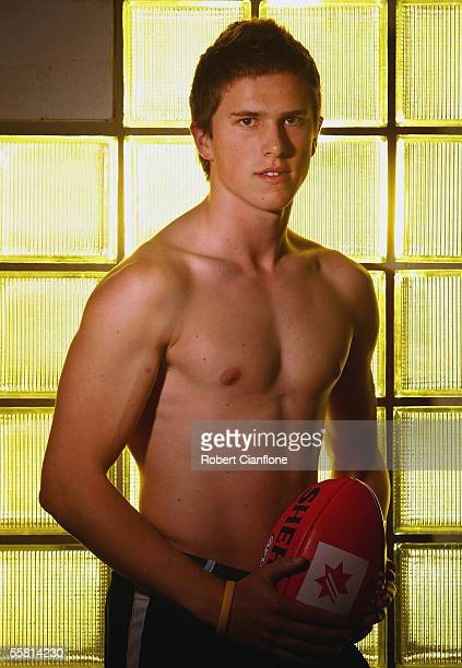 Marc Murphy of Victoria poses for a portrait during the National Rising Stars AFL Draft Camp at the Australian Institute of Sport September 28 2005...