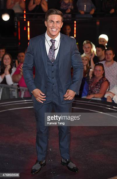 Marc O'Neill is 'evicted' from the Big brother house during a fake eviction at Elstree Studios on June 12, 2015 in Borehamwood, England.
