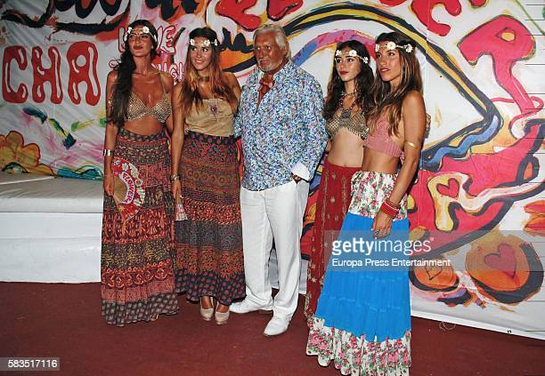 Marc Ostarcevic attends Flower Power party on July 25 2016 in Ibiza Spain