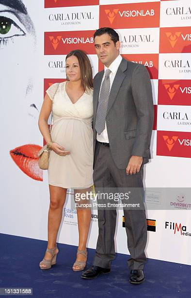 Marc Ostarcevic attends the painting exhibition of Carla Duval at Casa de Vacas on September 5 2012 in Madrid Spain