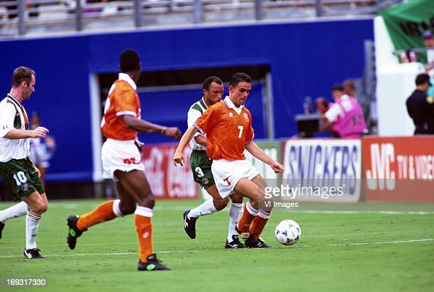Marc Overmars during the FIFA World Cup 1994 round of 16 match between Netherlands and Ireland om July 4 1994 at the Citrus Bowl stadium in Orlando...