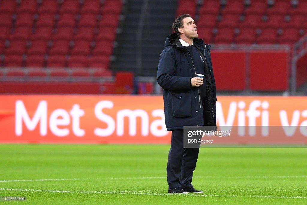 Ajax v Feyenoord - Dutch Eredivisie : News Photo