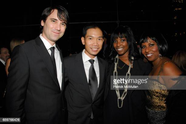 Marc Parees Andrew Uriarte Olivia Washington and Pauletta Washington attend This Is Tisch Gala 2009 at Frederick P Rose Hall on November 2 2009 in...