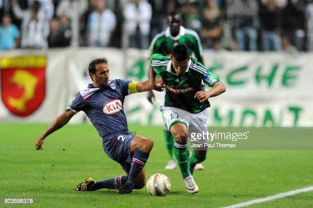 Marc PLANUS / Idriss SAADI Saint Etienne / Bordeaux 16e finale Coupe de la Ligue