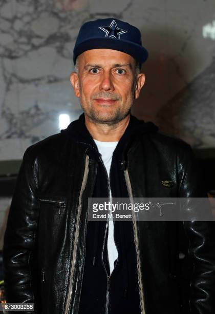 Marc Quinn attends a preopening dinner hosted by Kate Bryan at Zobler's Delicatessen at The Ned London on April 25 2017 in London England