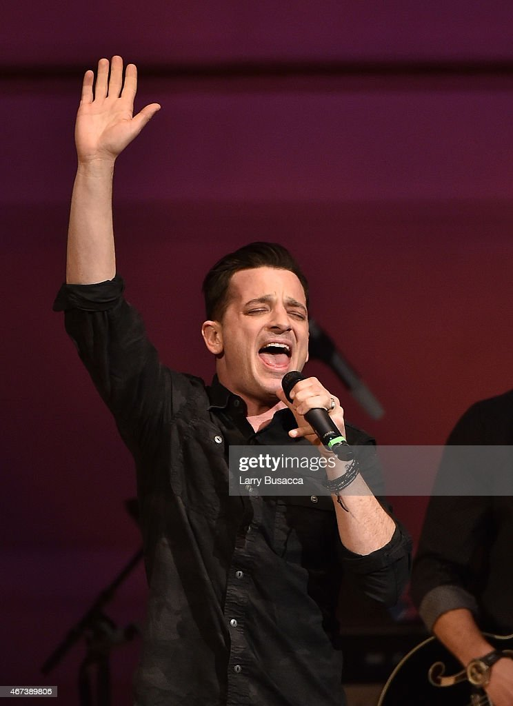 Marc Roberge of O.A.R. performs onstage during The Music Of David Byrne & Talking Heads at Carnegie Hall on March 23, 2015 in New York City.