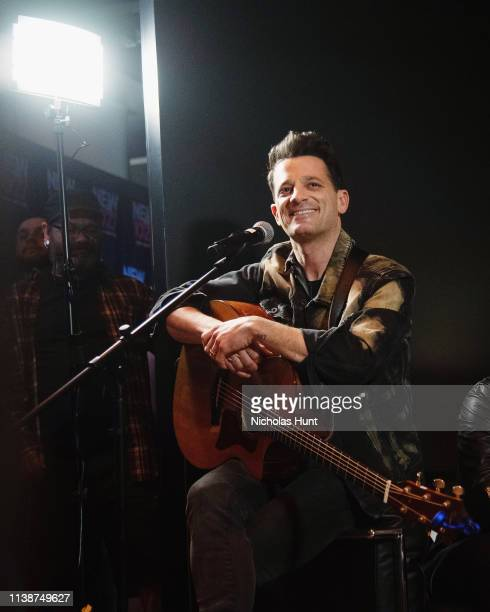 Marc Roberge of The Band OAR performs at the album release party for The Mighty at Sony Square on March 27 2019 in New York City