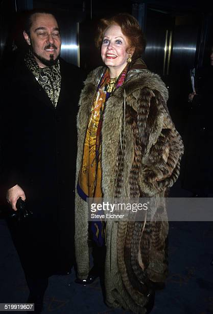 Marc Rosen and Arlene Dahl at premiere of 'Diamonds' New York December 2 1999