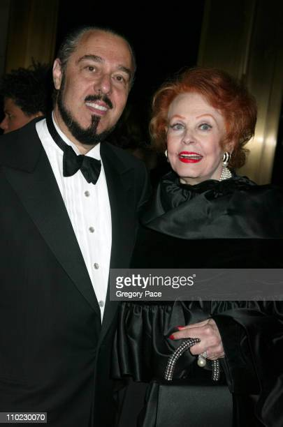 Marc Rosen and Arlene Dahl during The Actors Fund 'There's No Business Like Show Business' Gala at Cipriani 42nd Street in New York City New York...