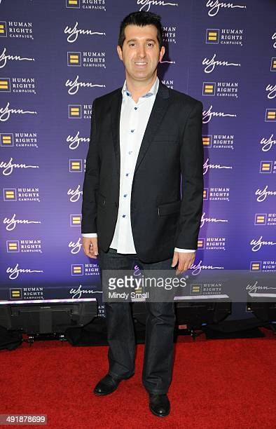 Marc Savard arrives at the 9th Annual Human Rights Campaign Gala at the Wynn Las Vegas on May 17, 2014 in Las Vegas, Nevada.