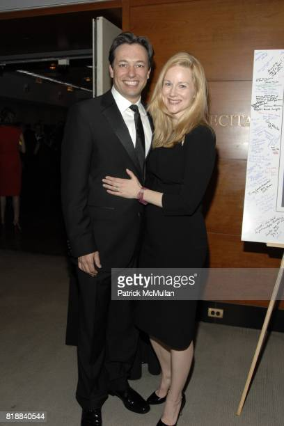 Marc Schauer and Laura Linney attend The Juilliard School Gala Celebrating Joseph W Polisi at The Juilliard School on April 26 2010 in New York City