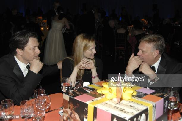 Marc Schauer Laura Linney and Michael Berman attend The Juilliard School Gala Celebrating Joseph W Polisi at The Juilliard School on April 26 2010 in...