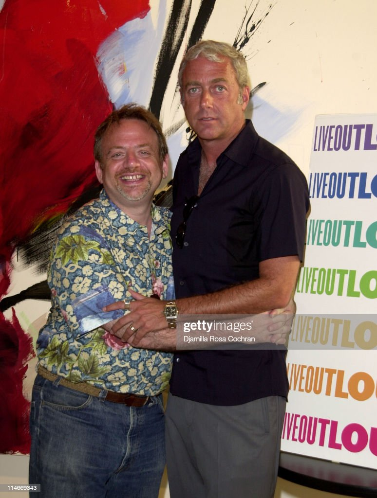 Marc Shaiman and Scott Wittman during Marc Shaiman and Scott Wittman Host a Gala for LIVE OUT LOUD at Chelsea Art Museum in New York City, New York, United States.